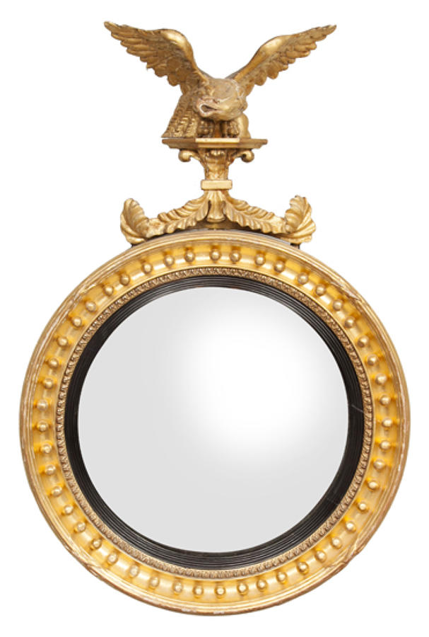Convex Antique mirrors