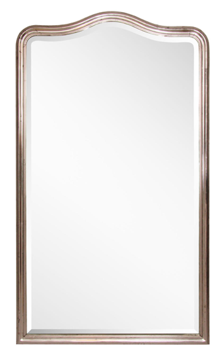 1860's French Silver Gilt Mirror with Original Bevelled Glass