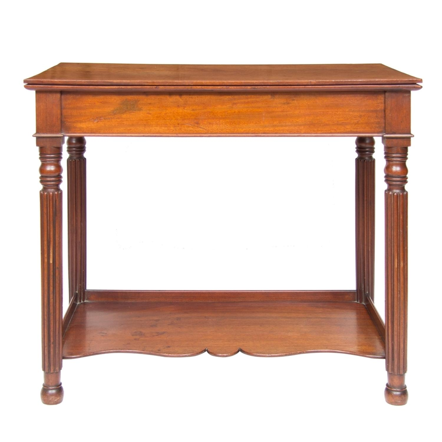 An 1840'S Mahogany Hall Table