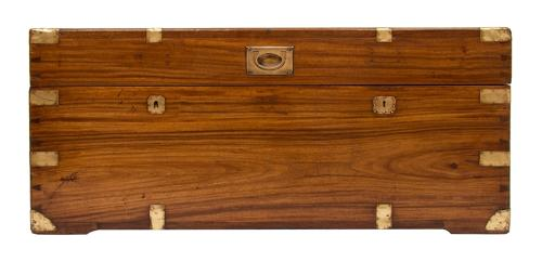 Military Campaign Camphor Wood Chest