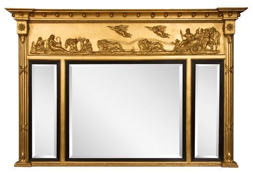 Chariot Triptych Mirror c.1840