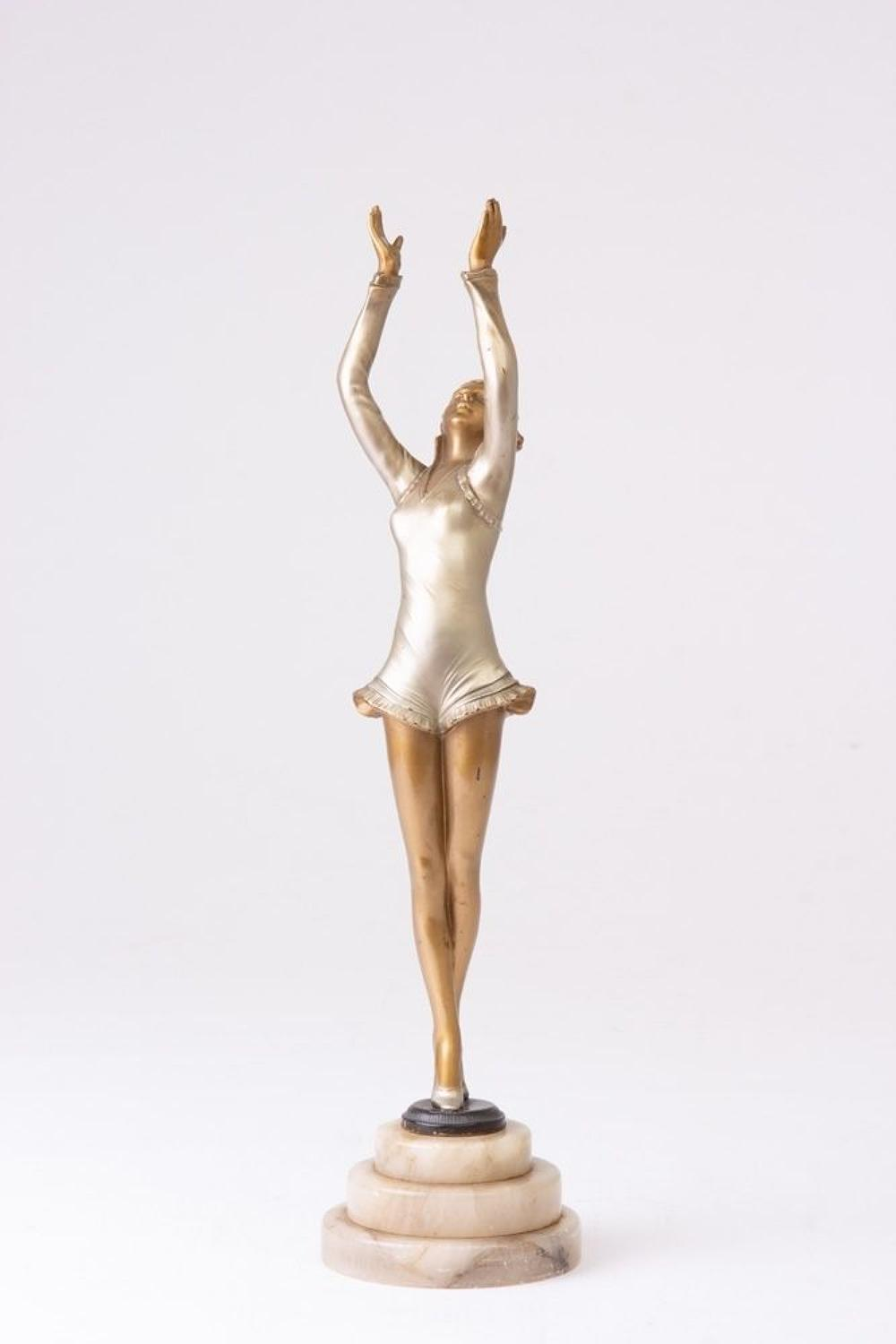 Art Deco Lady's Figure by Lorenzyl c.1920s