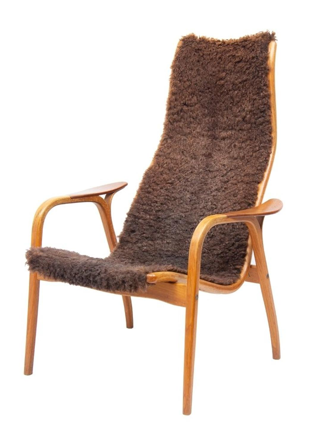 Vintage Lamino Chair by Yngve Ekström for Swedese