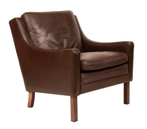 Mogens Hansen Leather Armchair c.1960