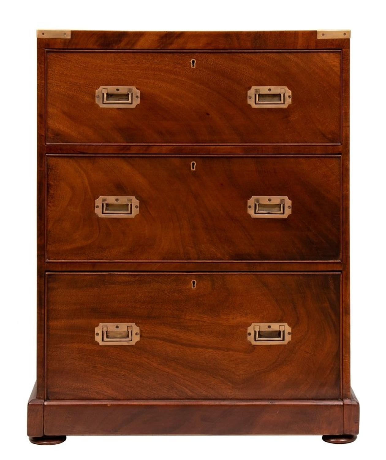 Military Bank of Drawers c.1900