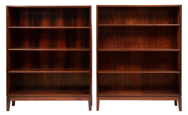 Pair of Rosewood Bookcase by Illums Bolighus c.1960