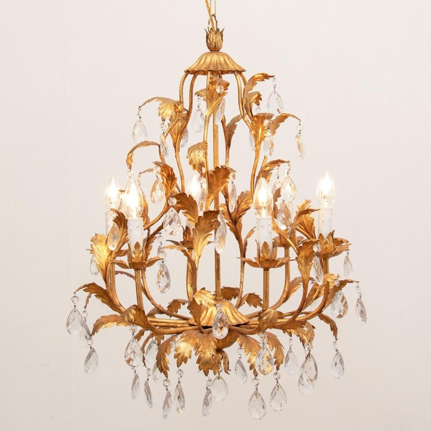 Hollywood Regency Chandelier