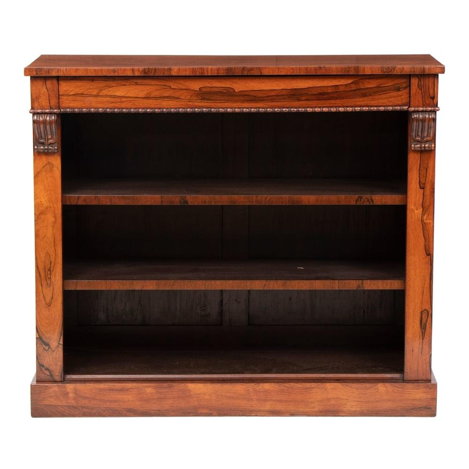 Antique Regency Rosewood Bookcase
