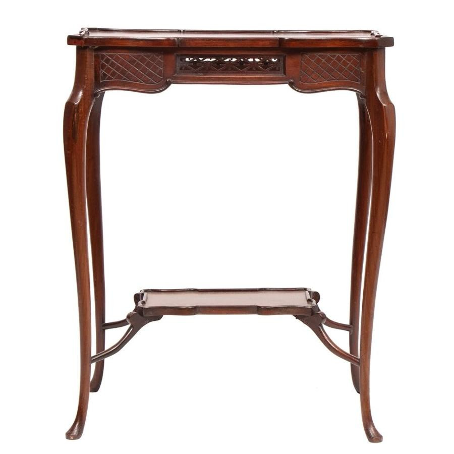 Late Victorian Chinoiserie Side Table