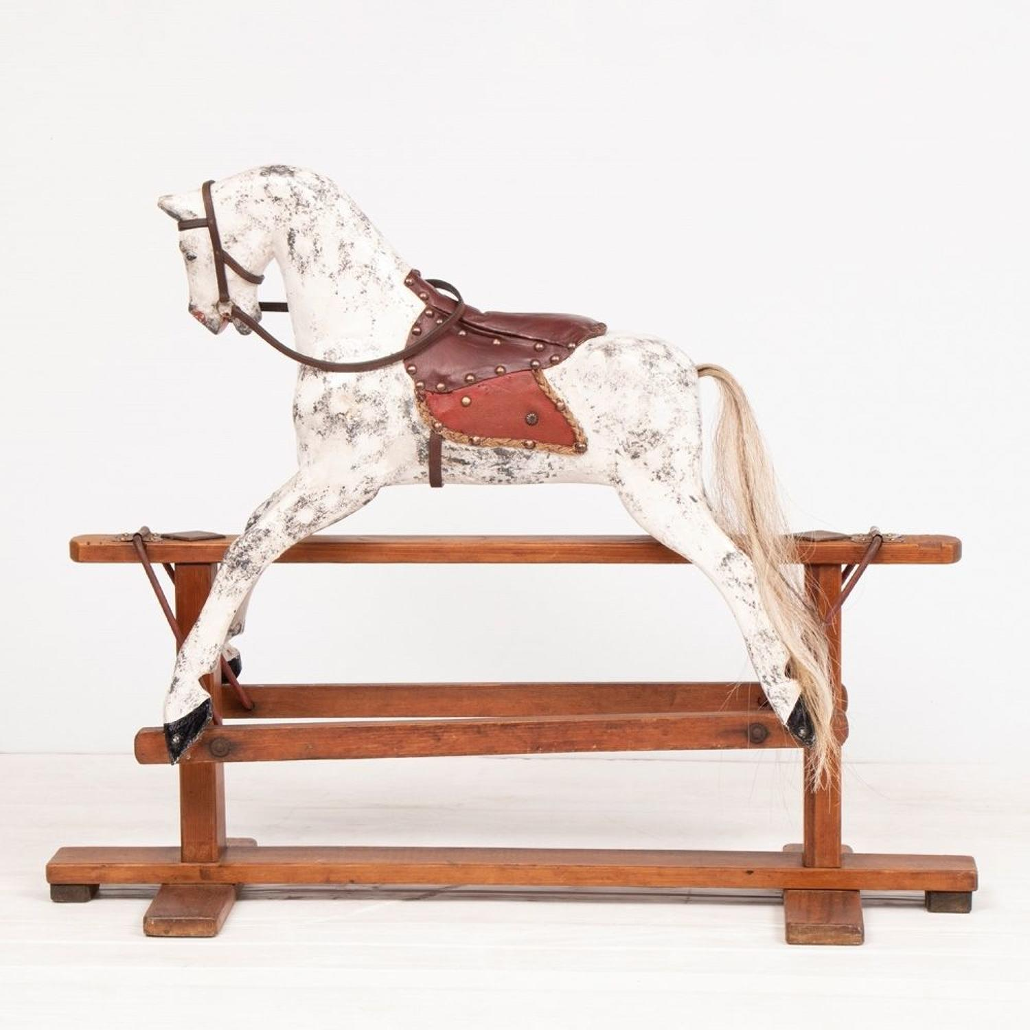 British Rocking Horse by Collinson & Sons c.1960