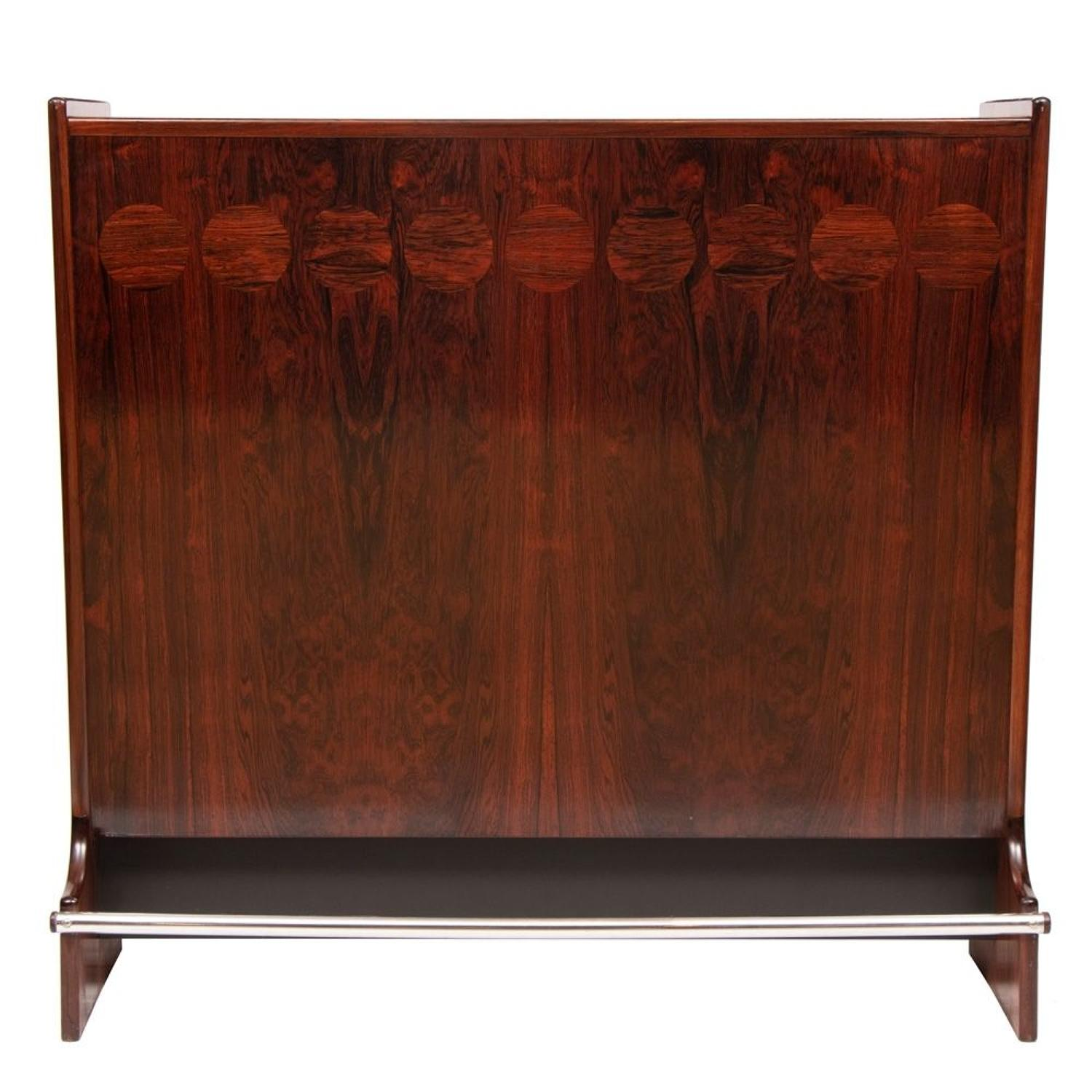 Danish Midcentury Rosewood Bar