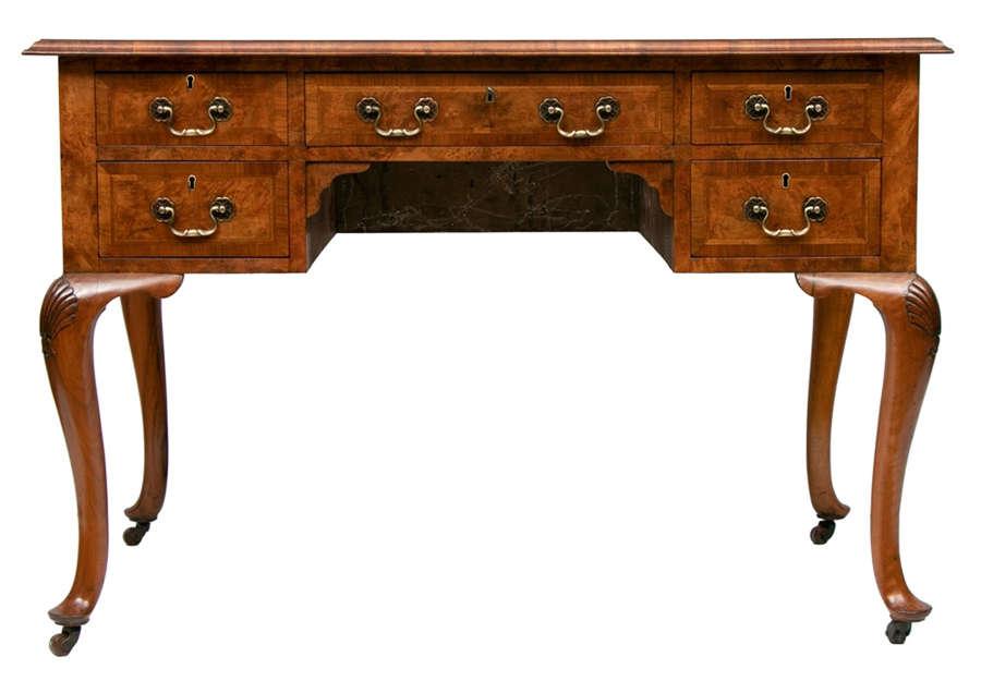 19th Century Walnut Writing Desk