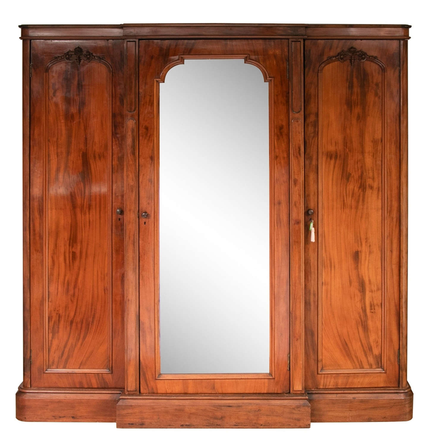 Early 19th Century Large Mahogany Wardrobe C1850