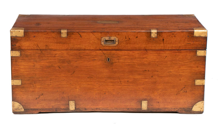 19th Century Military Campaign Trunk c.1850