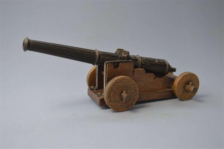 A superb miniature military cannon