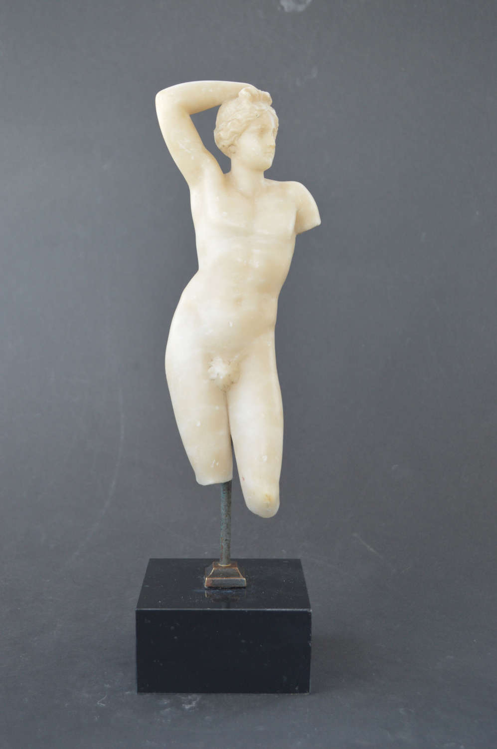 Antique sculpture of classical male torso