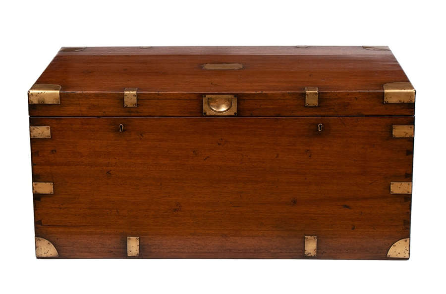 19th Century Military Campaign Trunk