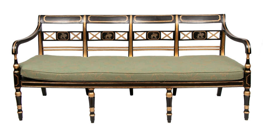 Georgian Gilt Empire Sofa