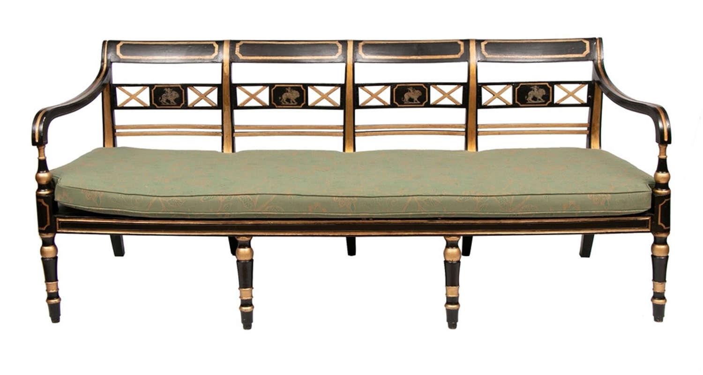 Georgian Gilt Empire Sofa