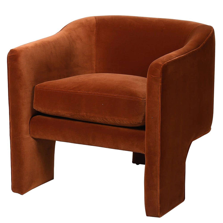 Amber Velvet chair