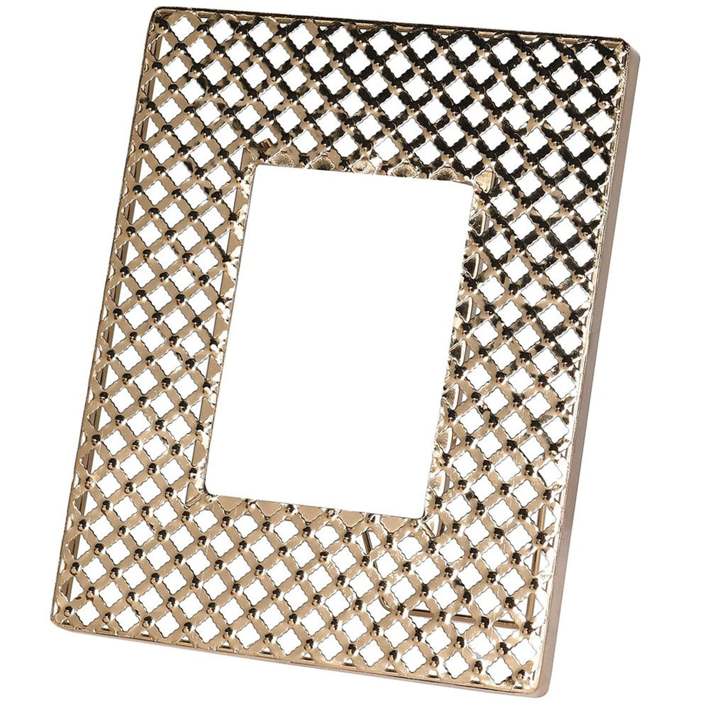 Criss Cross Gold Photo frame