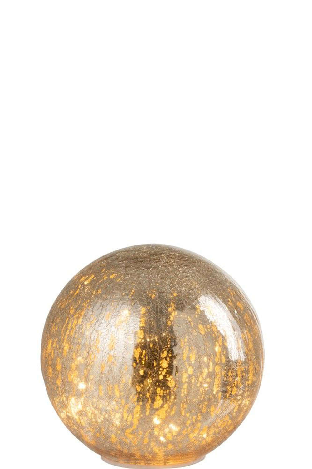 Large Gold LED Ball