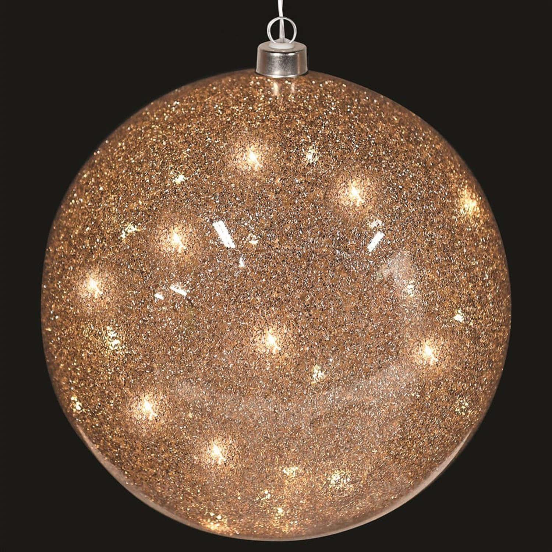 LED Glitter Ball