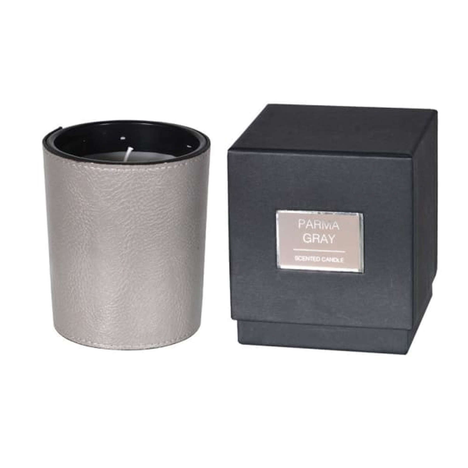 Parma Grey Scented Candle with Box