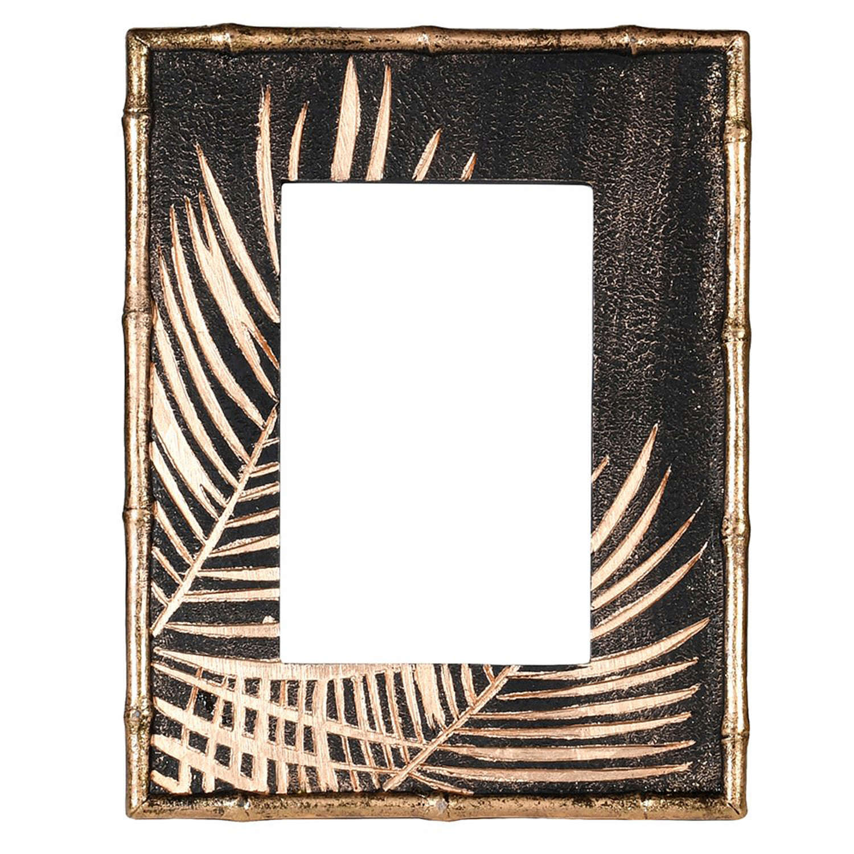 Golden Palm Photo Frame