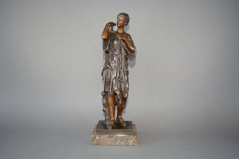 Antique sculpture of Diana of Gabii