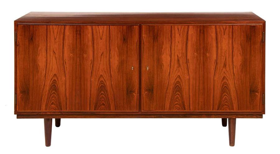 Two Door Midcentury Rosewood Sideboard
