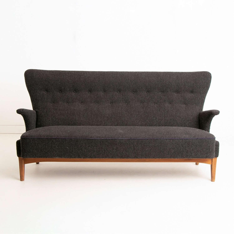 Danish Lambs Wool 3 Seater Sofa