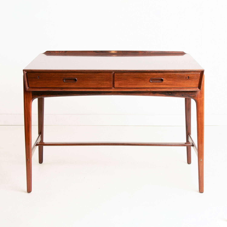 Midcentury Rosewood Desk by Svend Aage Madsen for Sigurd Hansen c.1960