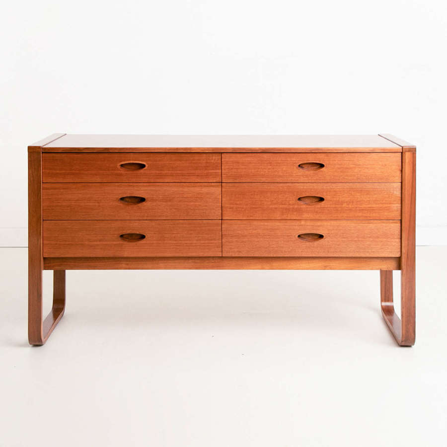 Midcentury Chest of Drawers by Uniflex c.1965