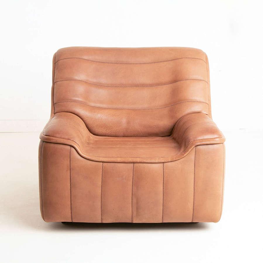 DS 84 Model Armchair in Buffalo Leather by De Sede Switzerland c.1970