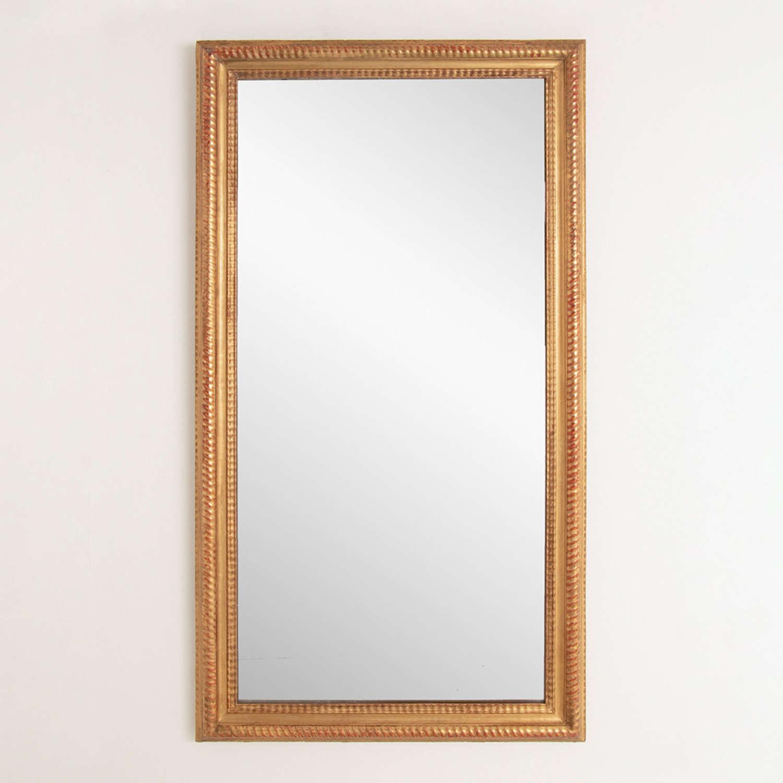 19th Century French Ribbon Mirror
